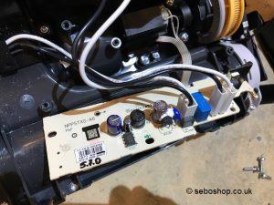 Sebo X7 main control board