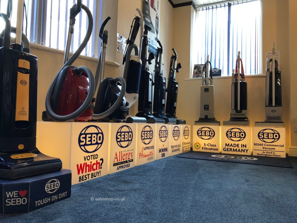Buy Sebo vacuum cleaner Cheshire