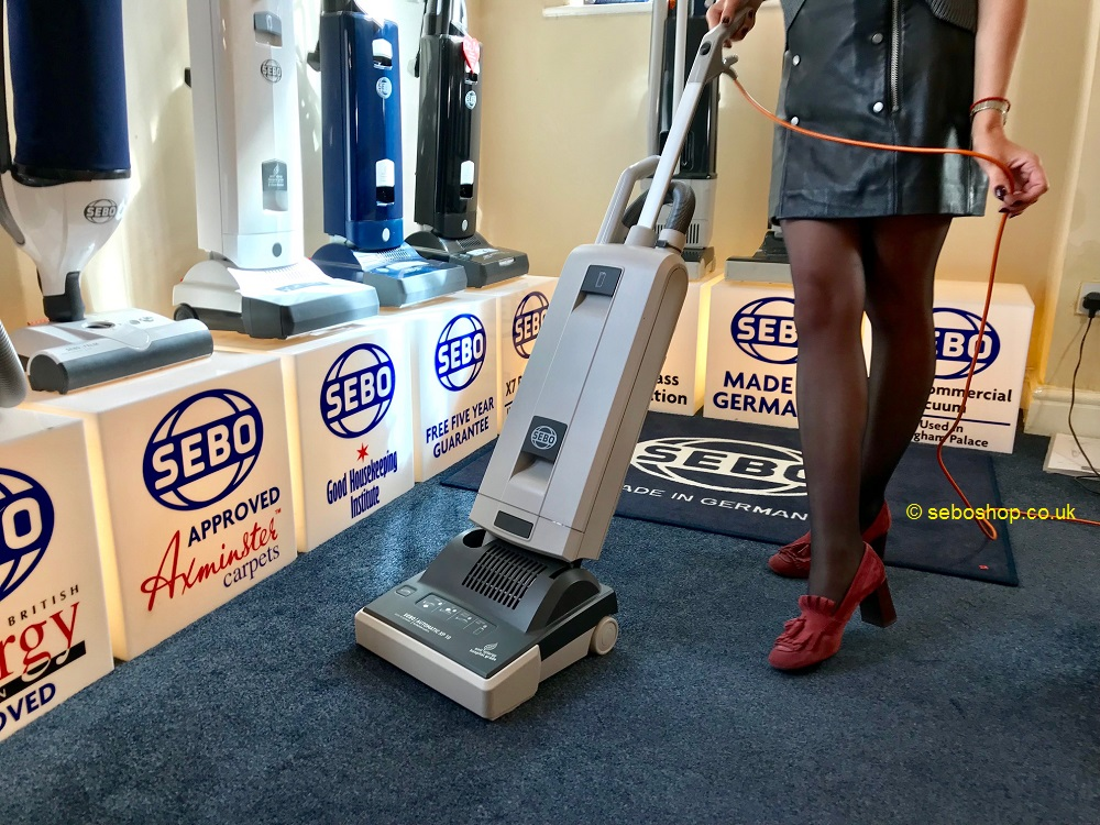 Sebo commercial vacuum cleaner