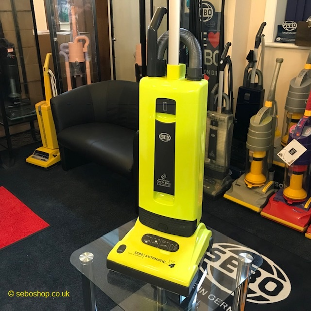 Our Rare Bright Yellow Sebo X4 Vacuum Cleaner The Sebo