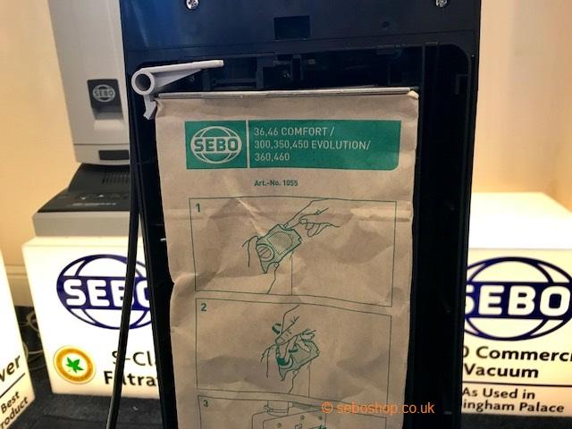 Sebo BS36 and BS360 vacuum bags