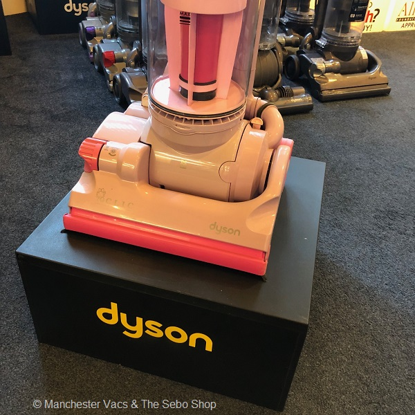 Dyson DC07 Clic Pink Vacuum Cleaner