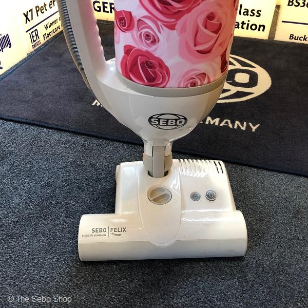 Sebo Felix Rose vacuum cleaner