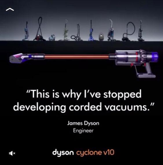 Dyson tio Sebo vacuum