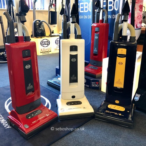 Recycle your old Sebo vacuum cleaner