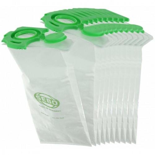 Genuine Sebo Dart Felix Dust Bag 10 Pk 7029ER