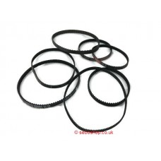 Sebo Vacuum Cleaner Toothed Belts - All Types